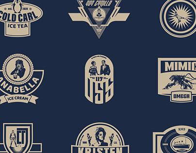 9 Badges