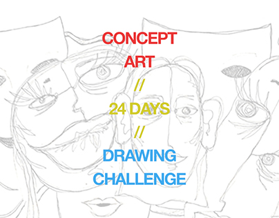 Concept Art / 24-Day Drawing Challenge
