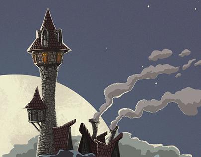 Upside Down - Castle Concept