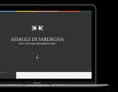 Assaggi di Sardegna Website