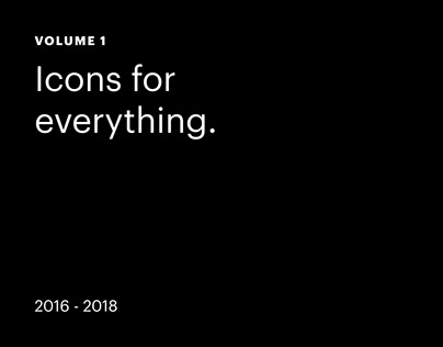 Icons for everything - Volume 1