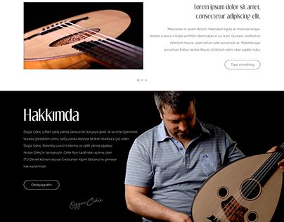 Luthier - UI Design Concept