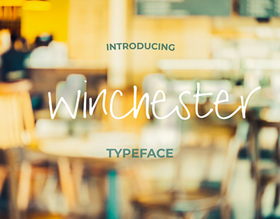 Winchester Handwritten Font