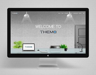 Themo Wordpress Theme - Agency animated demo
