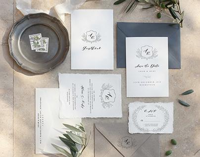 Wedding Invitations | Adam & Ruby