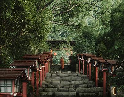 Step (Kifune Shrine-Kyoto)