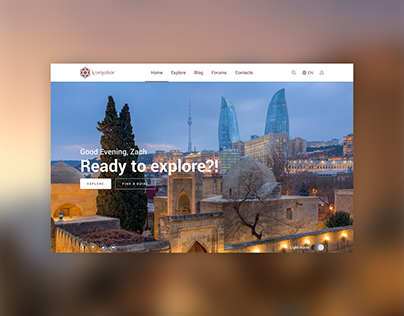 Icherisheher | Website design | UX/UI Case Study