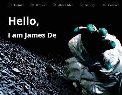 Astronaut Portfolio project