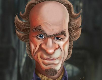 Count Olaf Digital Caricature