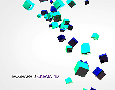 Cubes - Mograph C4D Experiment