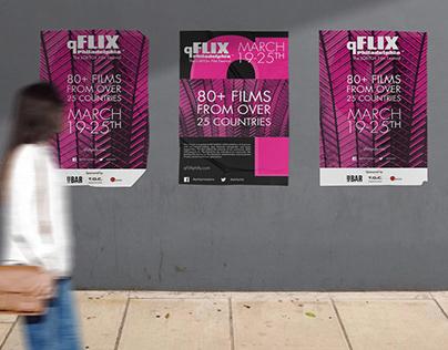 qFLIX Philadelphia Digital and Print Designs