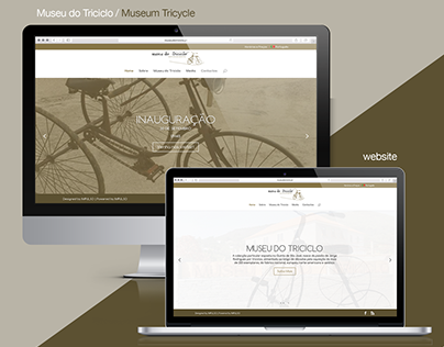Museu do Triciclo | Web Design