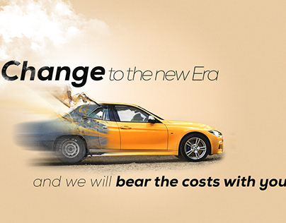 Car Adertisment-Change to the New Era