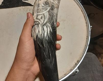 Odin Drinking horn !
