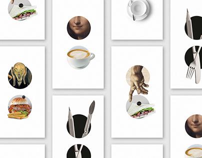 Brand Identity of Art Café