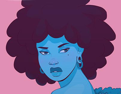 Afropunk Pop Art V3