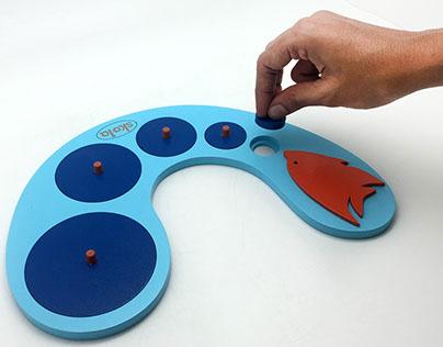 Circle Sorter - Montessori Toy