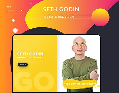 Seth Godin Website Redesign (2018)