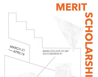 Merit Scholarship Posters