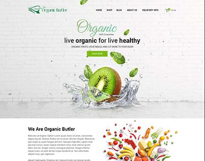 Organic Buttler