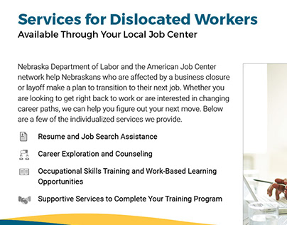 Dislocated Worker Services Half-Sheet