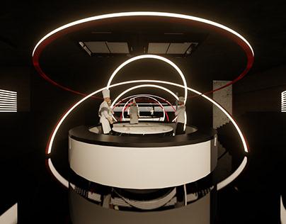 Concept Restaurant Design: Perform-eatery