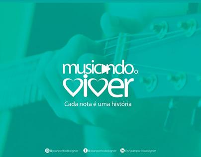 Musicando O Viver Logo Design