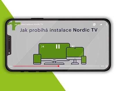 Animovaná instalační videa