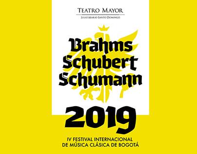 IV Festival de Música Clásica de Bogotá / Proposal
