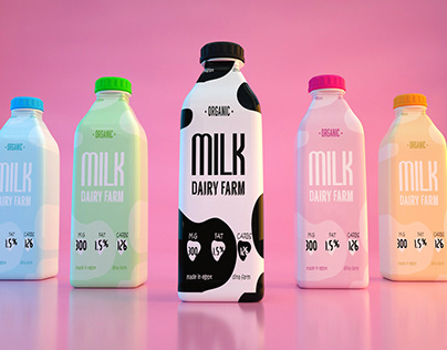MILK - logo & packaging