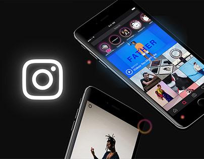 Instagram - Dark Mode