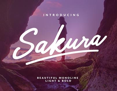 NEW FONT FAMILY!!! Sakura Monoline
