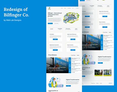 Redesign of Bilfinger Co.