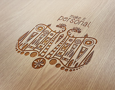 Concept design for ornamental engraving