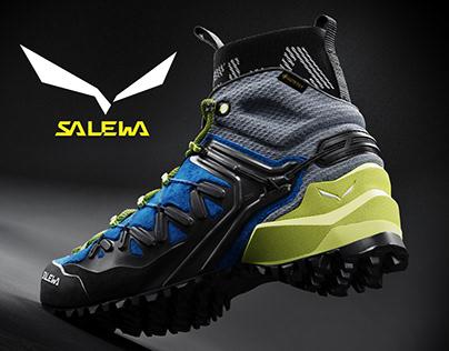 SALEWA WILDFIRE EDGE MID GTX FULL CGI