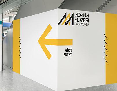 Adana Müzesi Yönlendirme Tasarımı
