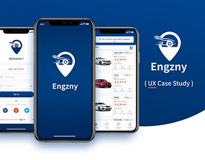 Car Rental App (Engzny) -UX Case Study