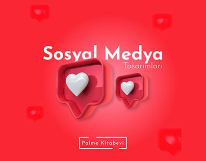Palme Kitabevi Aralık Ayı Sosyal Medya Çalışmaları