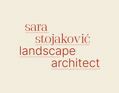 SS — Landscape Architect Branding
