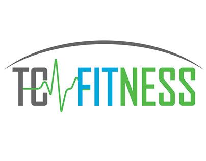 Logo designed for Town Center Health & Fitness Club