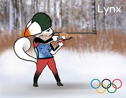 Personaje Olímpico