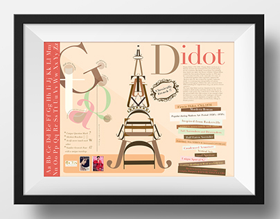 Typography poster -  Didot