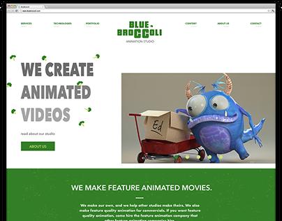 Web Design | Blue Broccoli Animated Studio