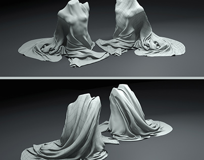Cute sculpture with good topology