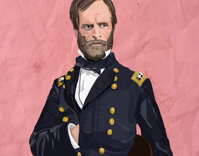 Illustration: Gen. William T. Sherman