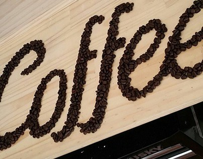 Coffee Bean Typography