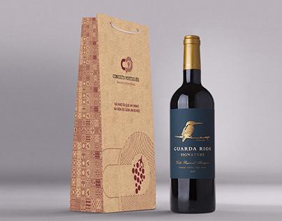 Conceito Português - embalagem para vinho