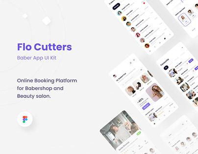 Flo Cutters - Baber App UI KIT