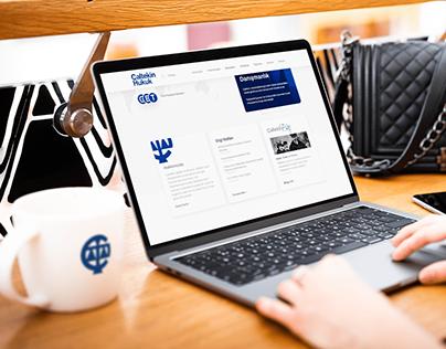 Çaltekin Law Branding, Website UI/UX