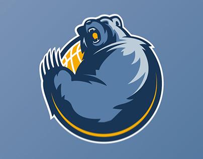 Memphis Grizzlies logo concept